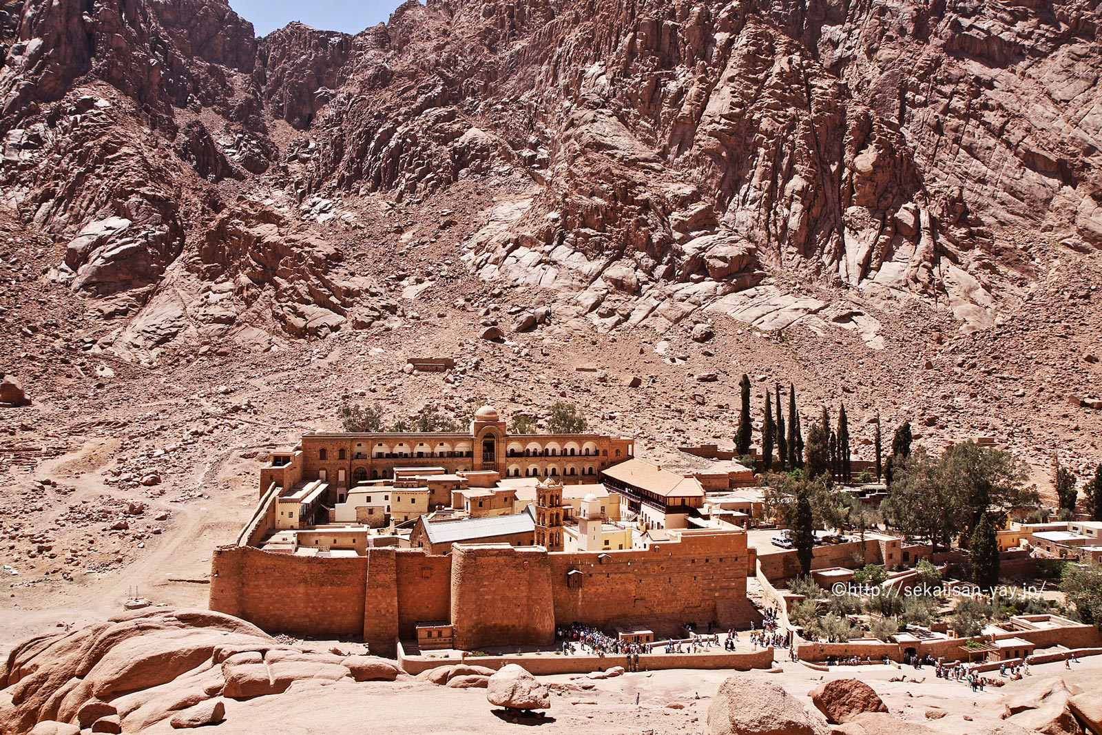 エジプト「聖カトリーナ修道院地域」