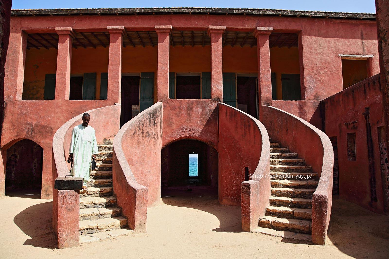 セネガル「ゴレ島」