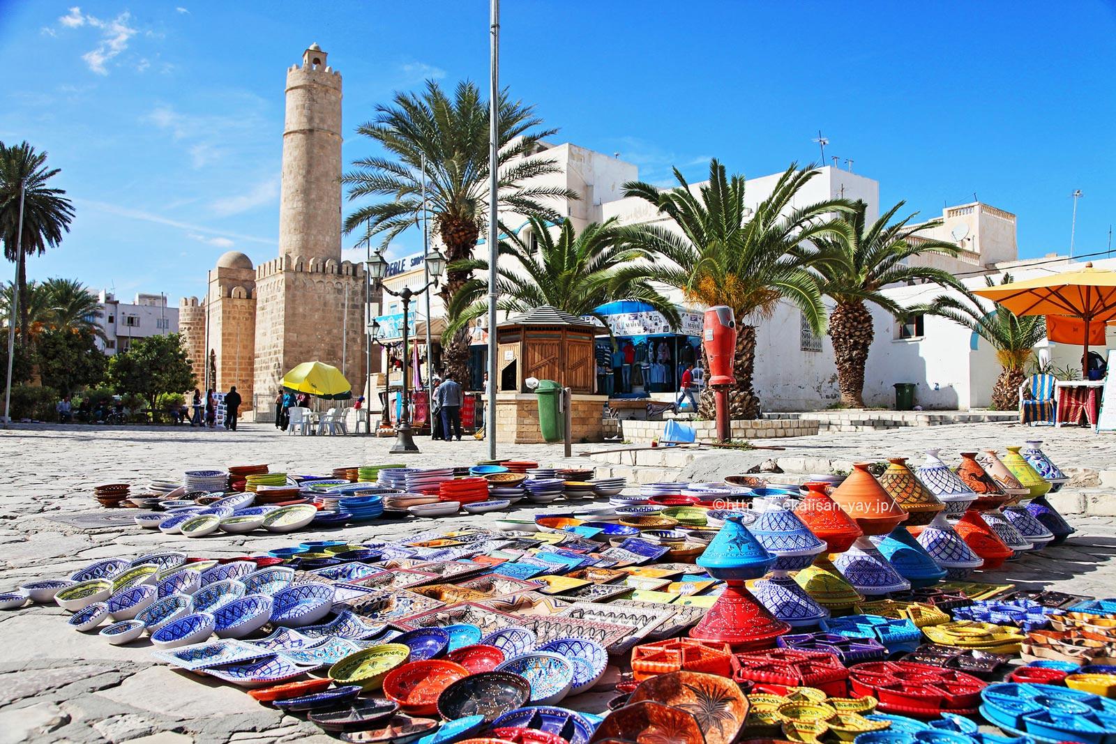 チュニジア「スース旧市街」