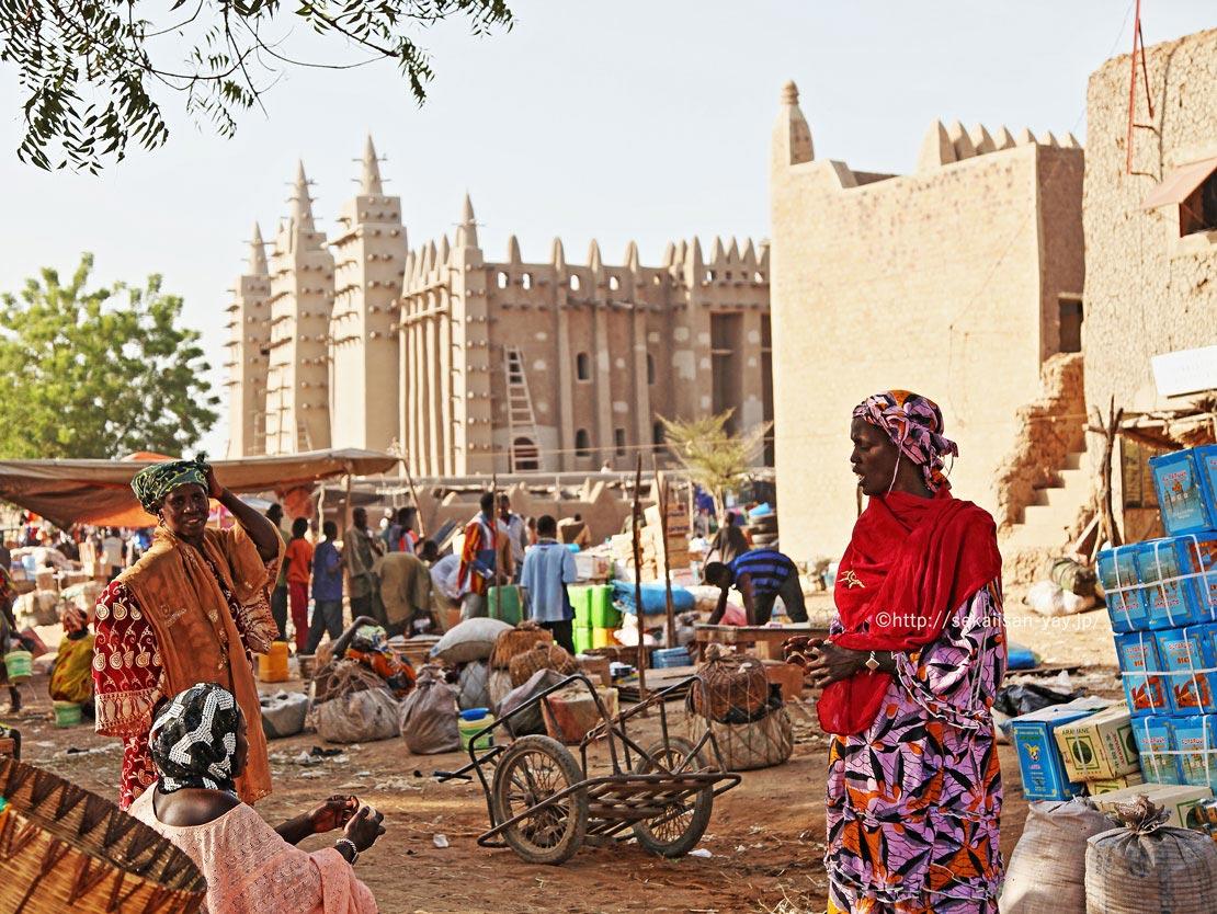 マリの世界遺産「ジェンネ旧市街」