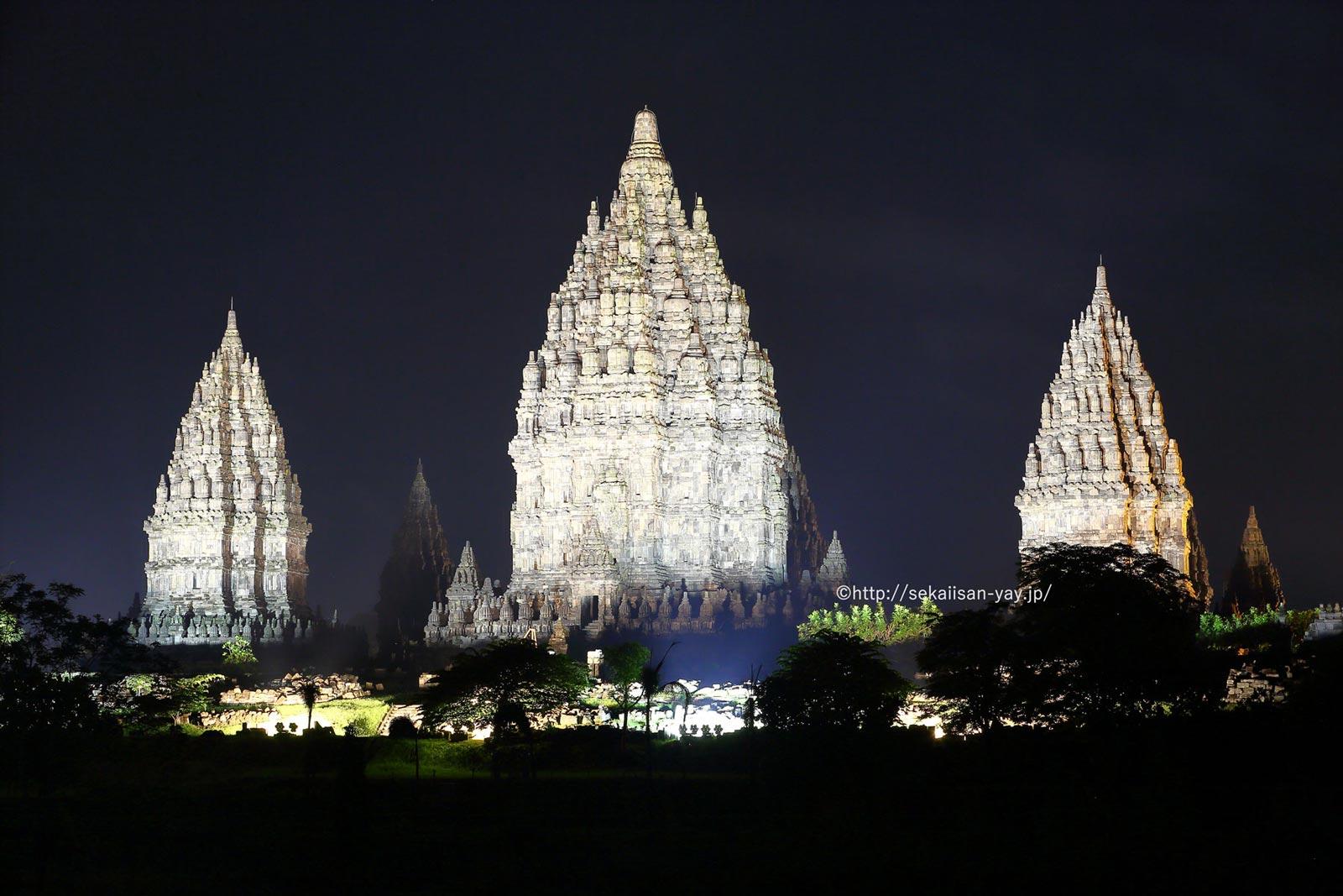 インドネシア「プランバナン寺院遺跡群」