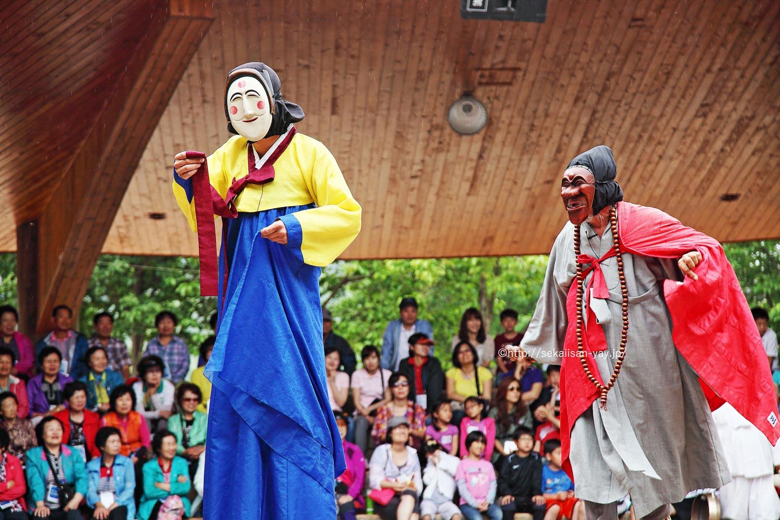 韓国「韓国の歴史的集落群:河回と良洞」