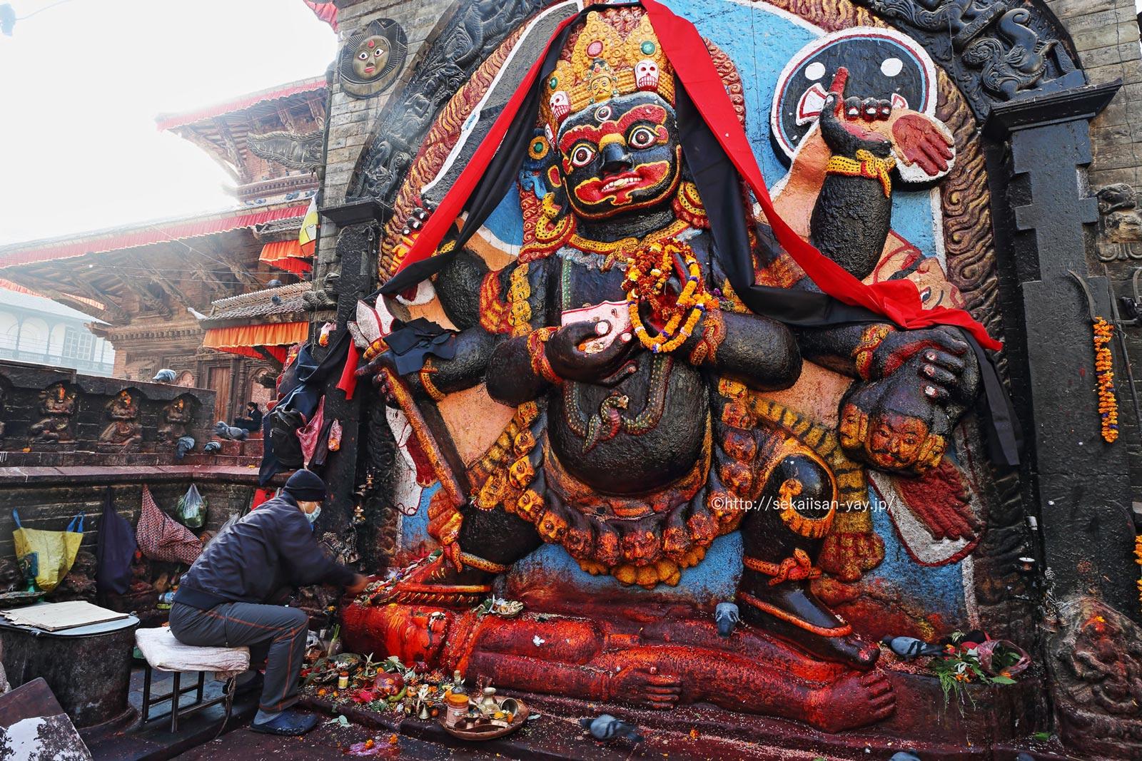 ネパール「カトマンズの谷」- ダルバール広場