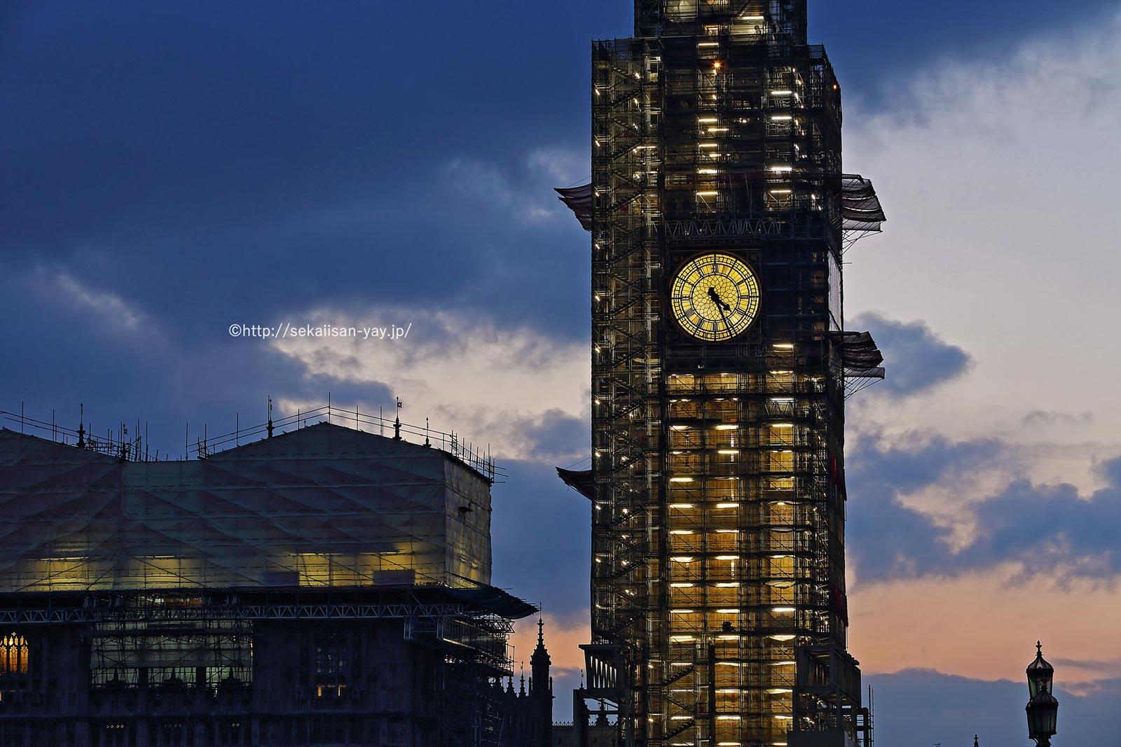 イギリス「ウェストミンスター宮殿、ウェストミンスター大寺院及び聖マーガレット教会」- ビッグ・ベン