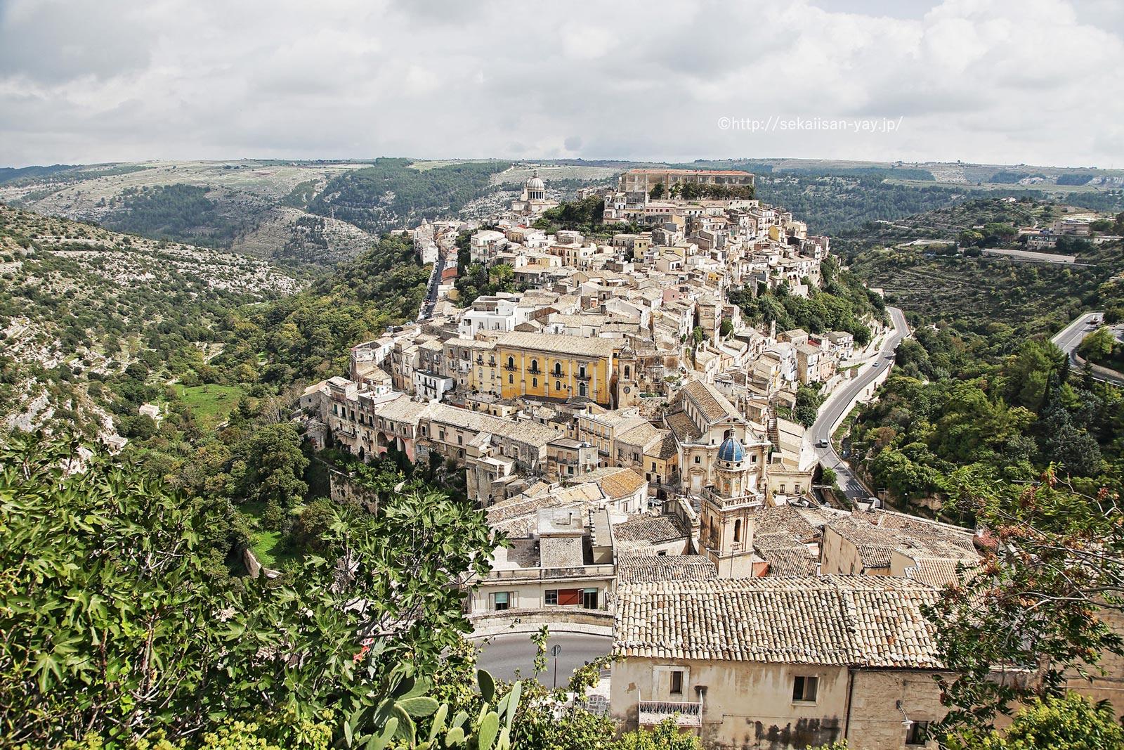 イタリア「ヴァル・ディ・ノートの後期バロック様式の町々(シチリア島南東部)」- ラグーザ・イブラ