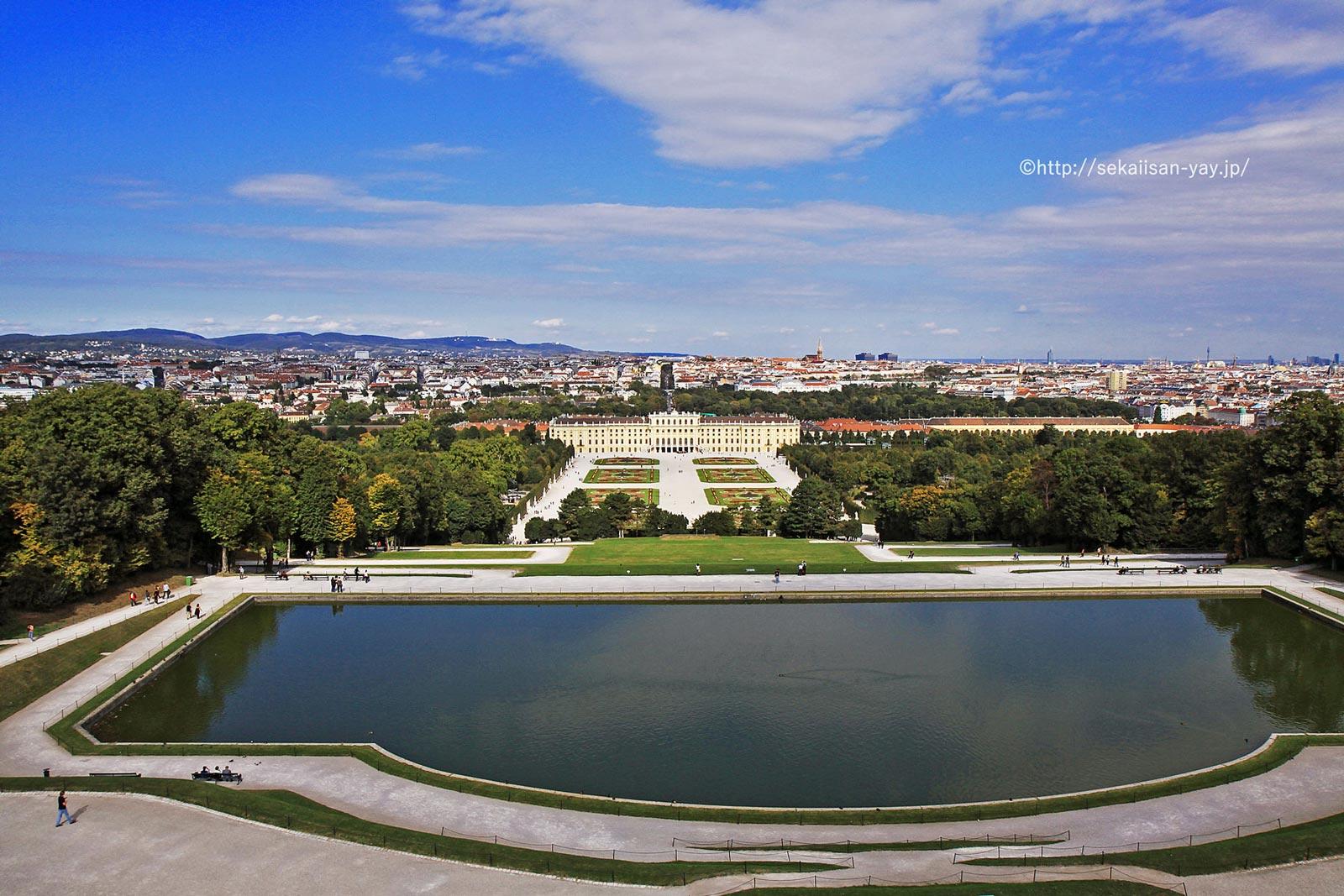 オーストリア「シェーンブルン宮殿と庭園群」