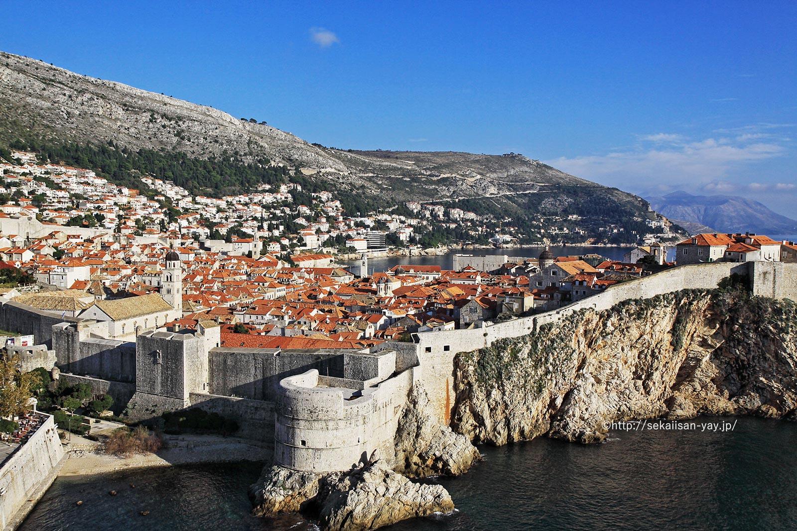 クロアチア「ドゥブロヴニク旧市街」