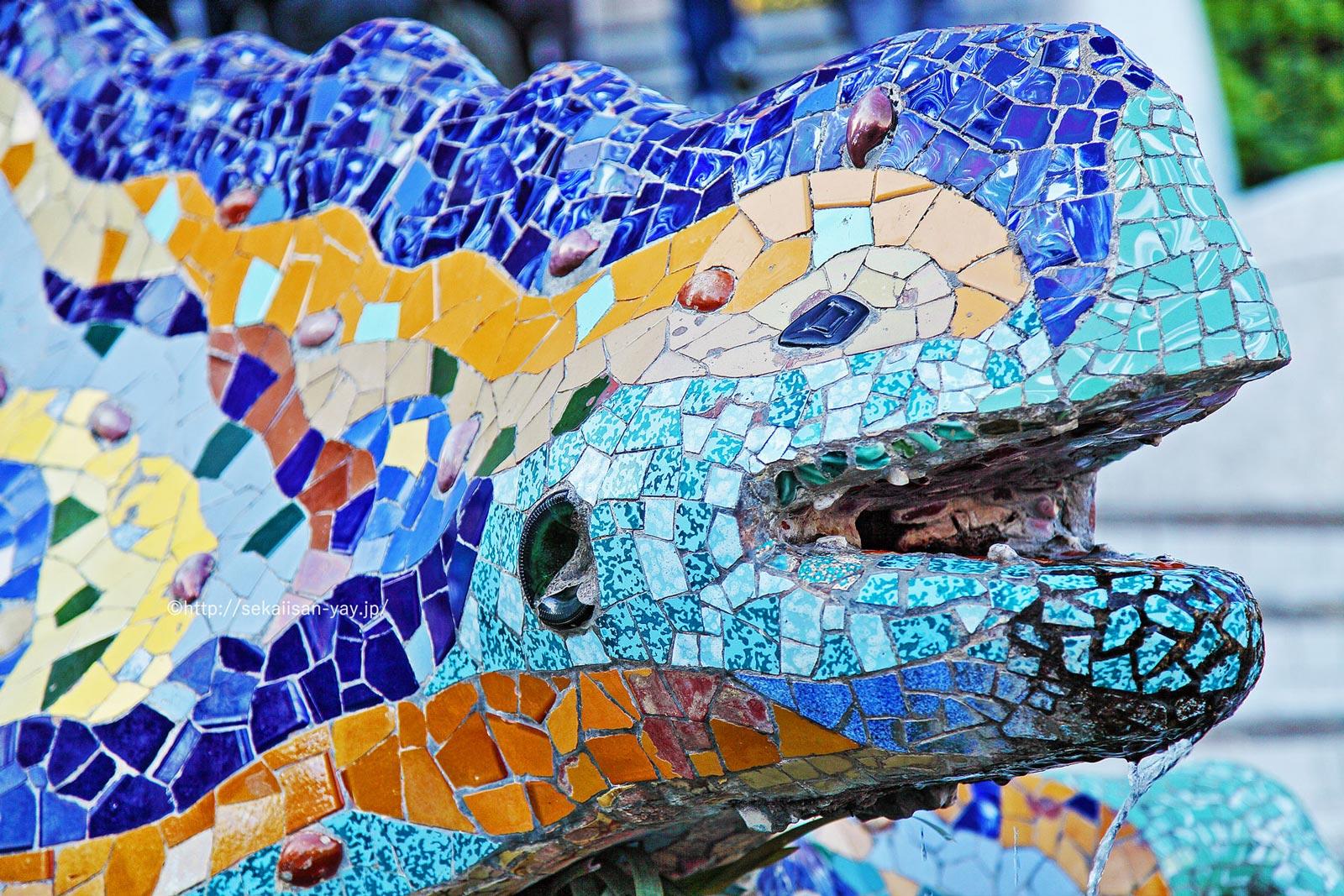 スペイン「アントニ・ガウディの作品群」- グエル公園
