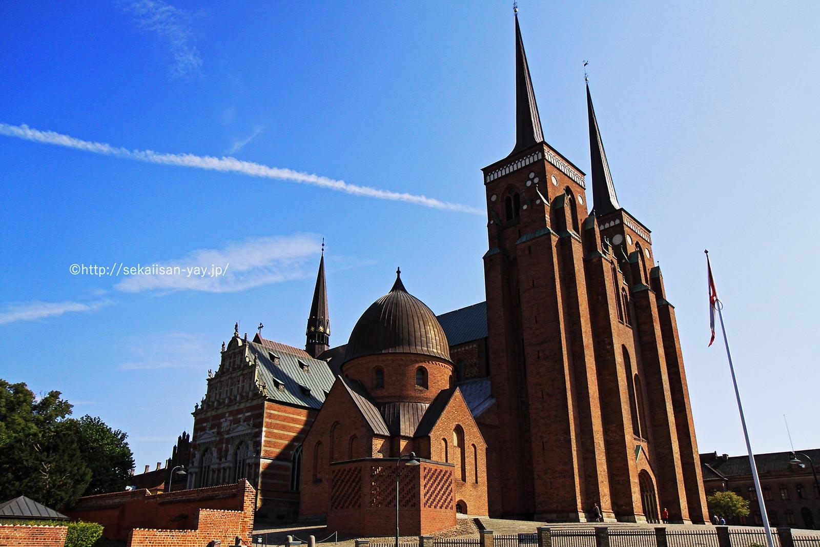 デンマーク「ロスキレ大聖堂」