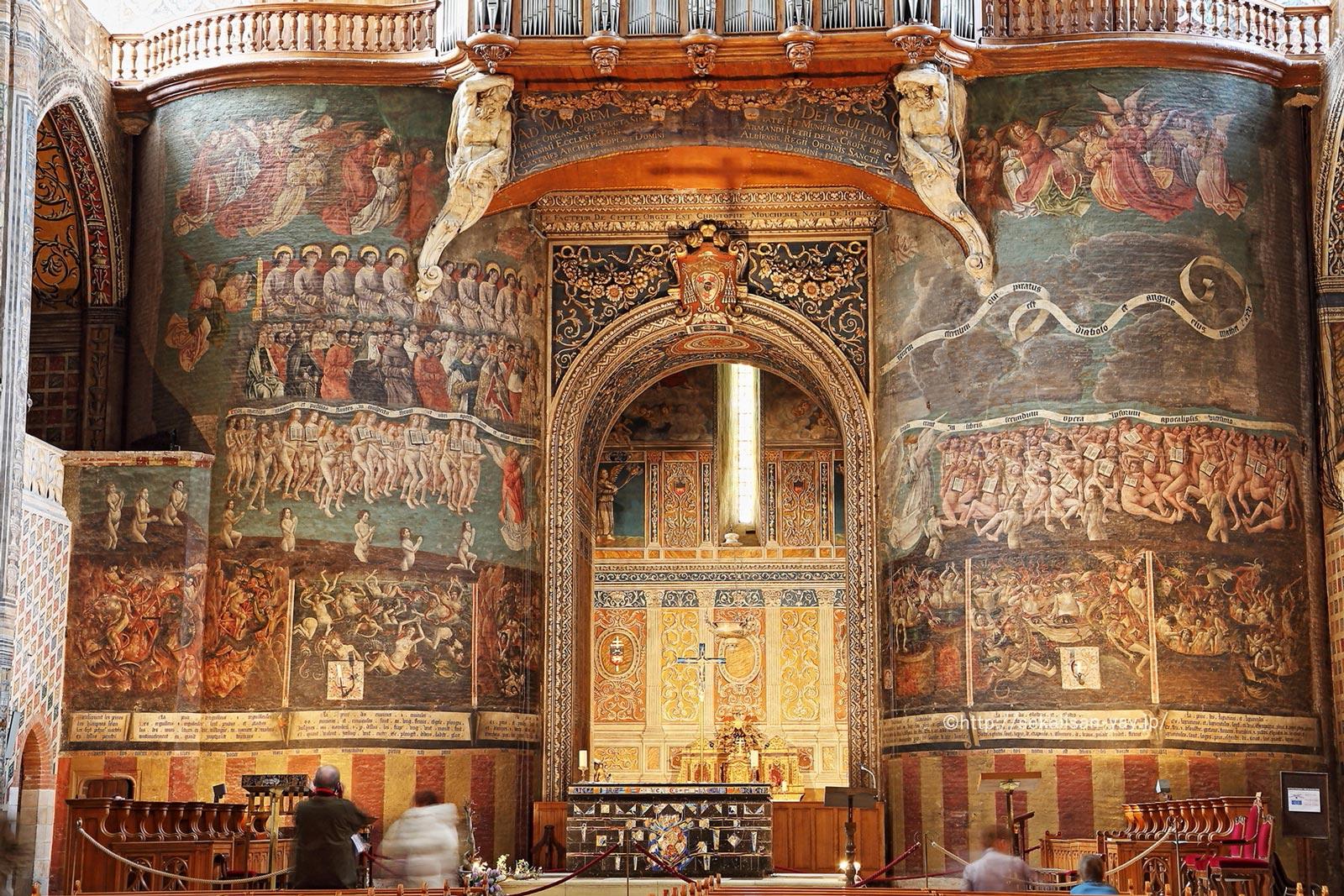 フランス「アルビ司教都市」- サント・セシル大聖堂