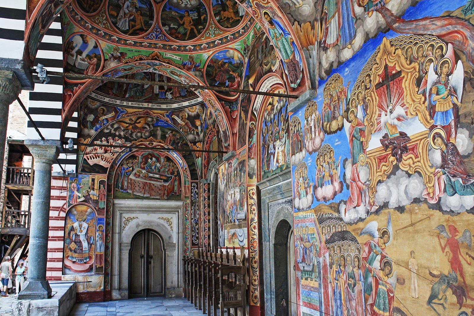 ブルガリア「リラ修道院」