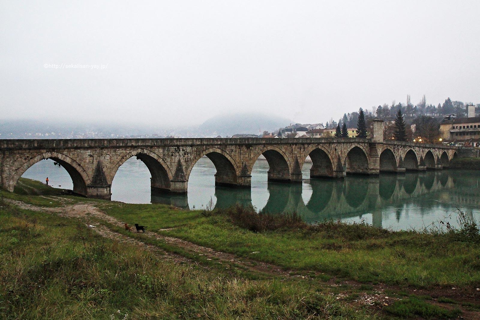 ボスニア・ヘルツェゴビナ「ヴィシェグラードのメフメド・パシャ・ソコロヴィッチ橋」