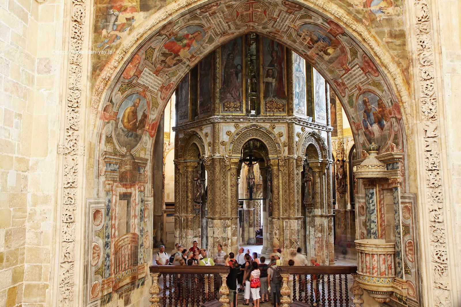 ポルトガル「トマールのキリスト教修道院」