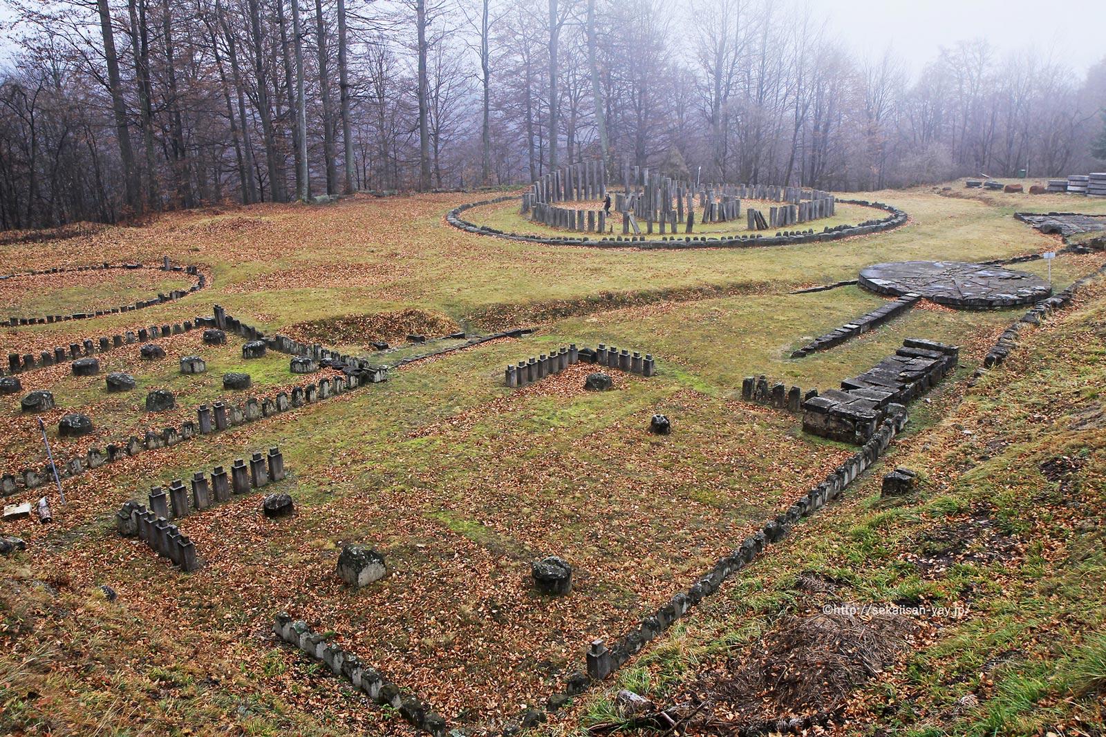ルーマニア「オラシュチエ山脈のダキア人の要塞群」
