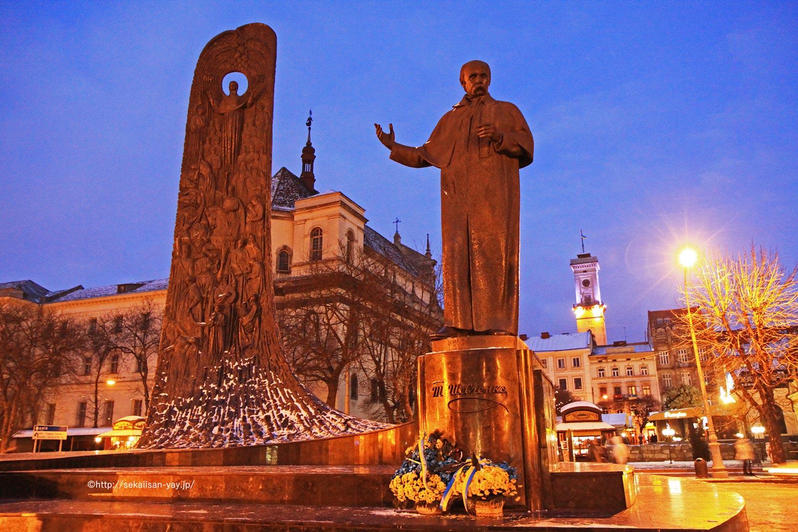 ウクライナ「リヴィフ歴史地区」