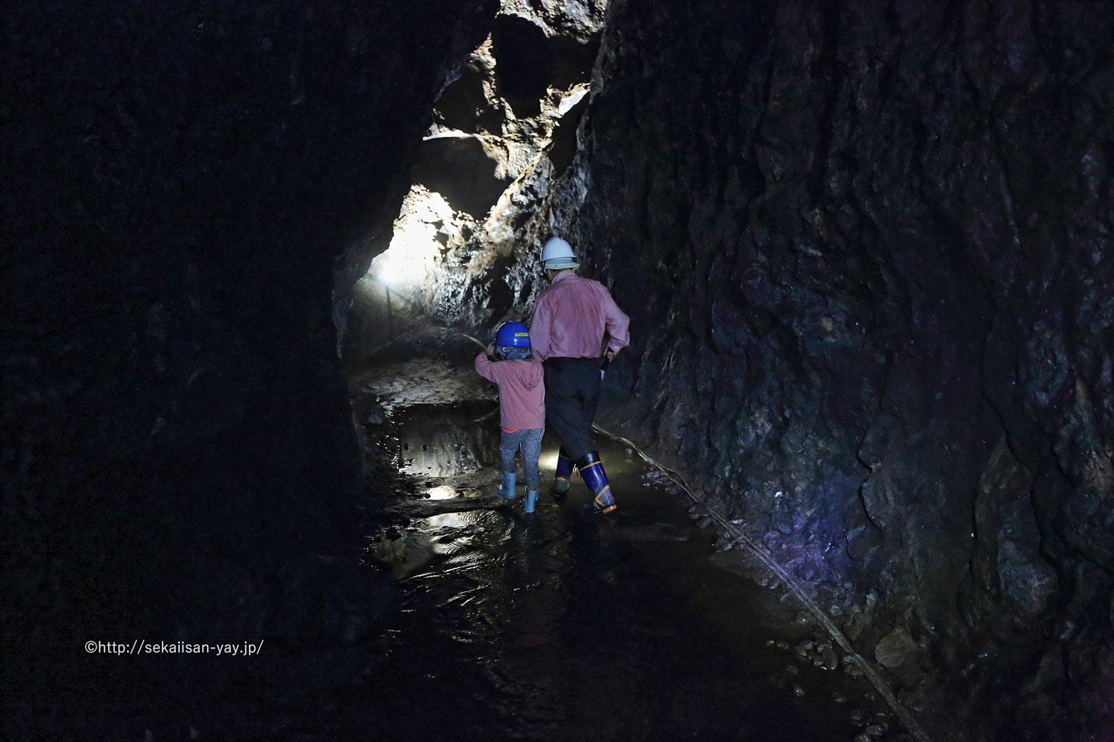 石見銀山遺跡とその文化的景観(大久保間歩)