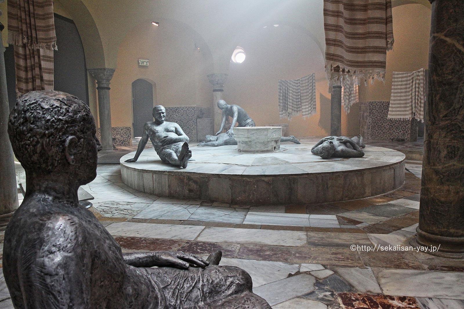 イスラエル「アッコ旧市街」- ハンマーム(市立博物館)