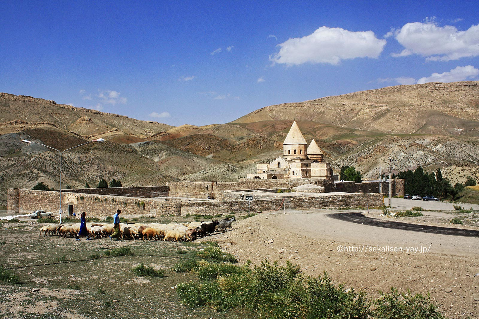 イラン「イランのアルメニア修道院群」- 聖タデウス修道院