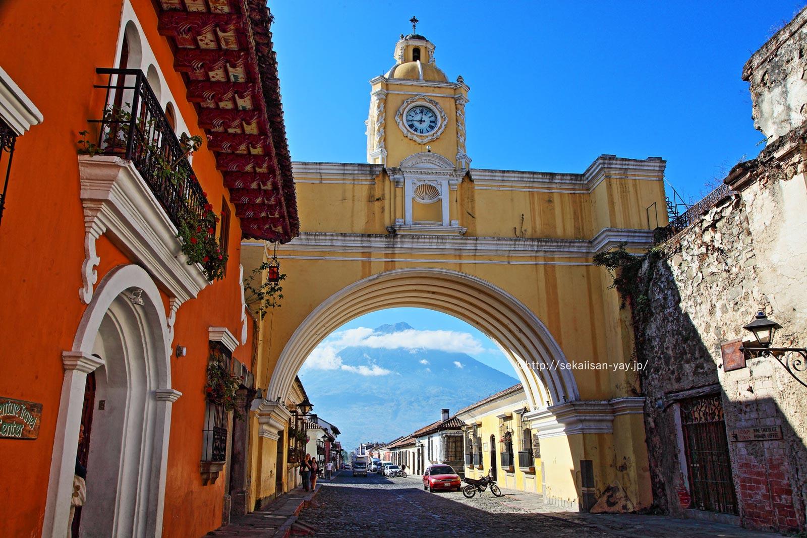 グアテマラ「アンティグァ・グアテマラ」