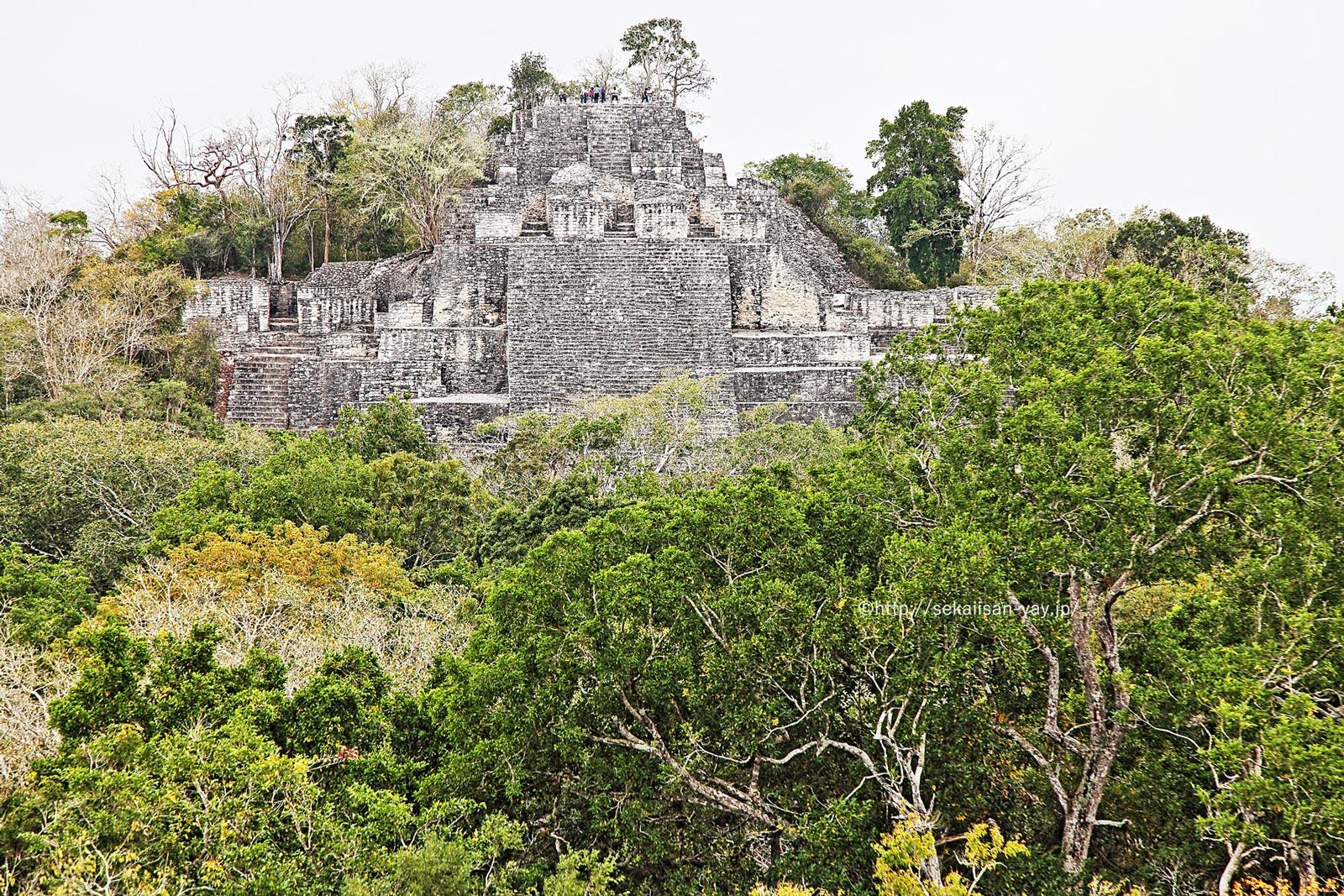 メキシコ「カンペチェ州、カラクムールの古代マヤ都市」