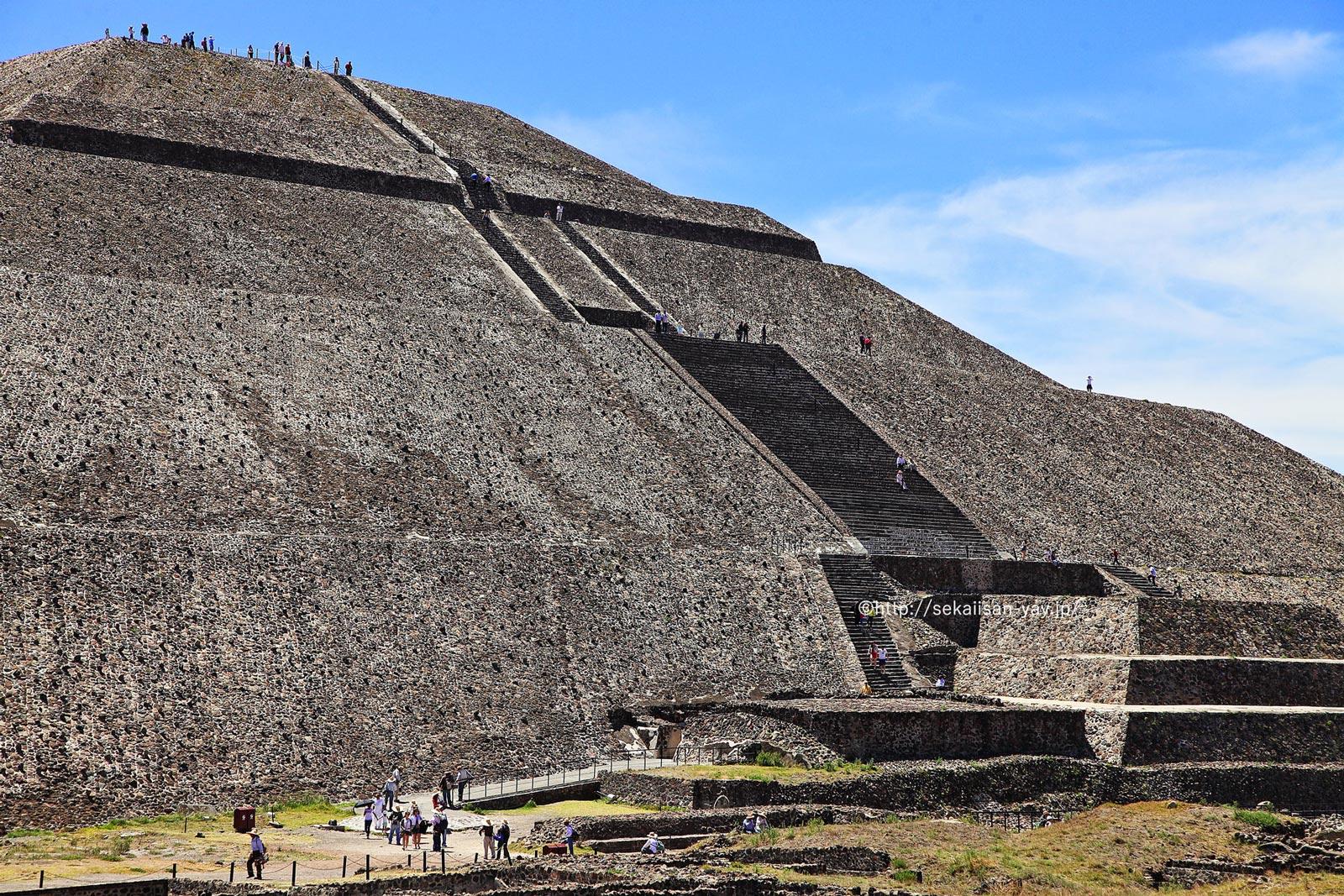 メキシコ「古代都市テオティワカン」