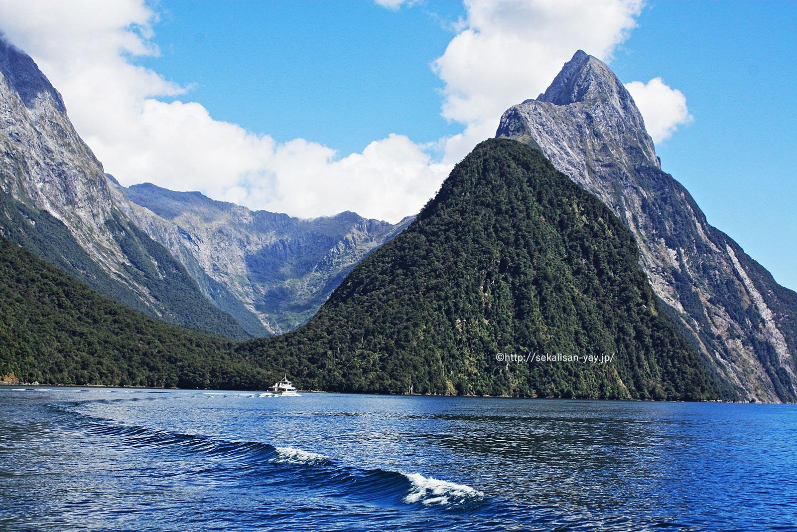 テ・ワヒポウナム-南西ニュージーランド - フィヨルドランド国立公園(ミルフォード・サウンド)