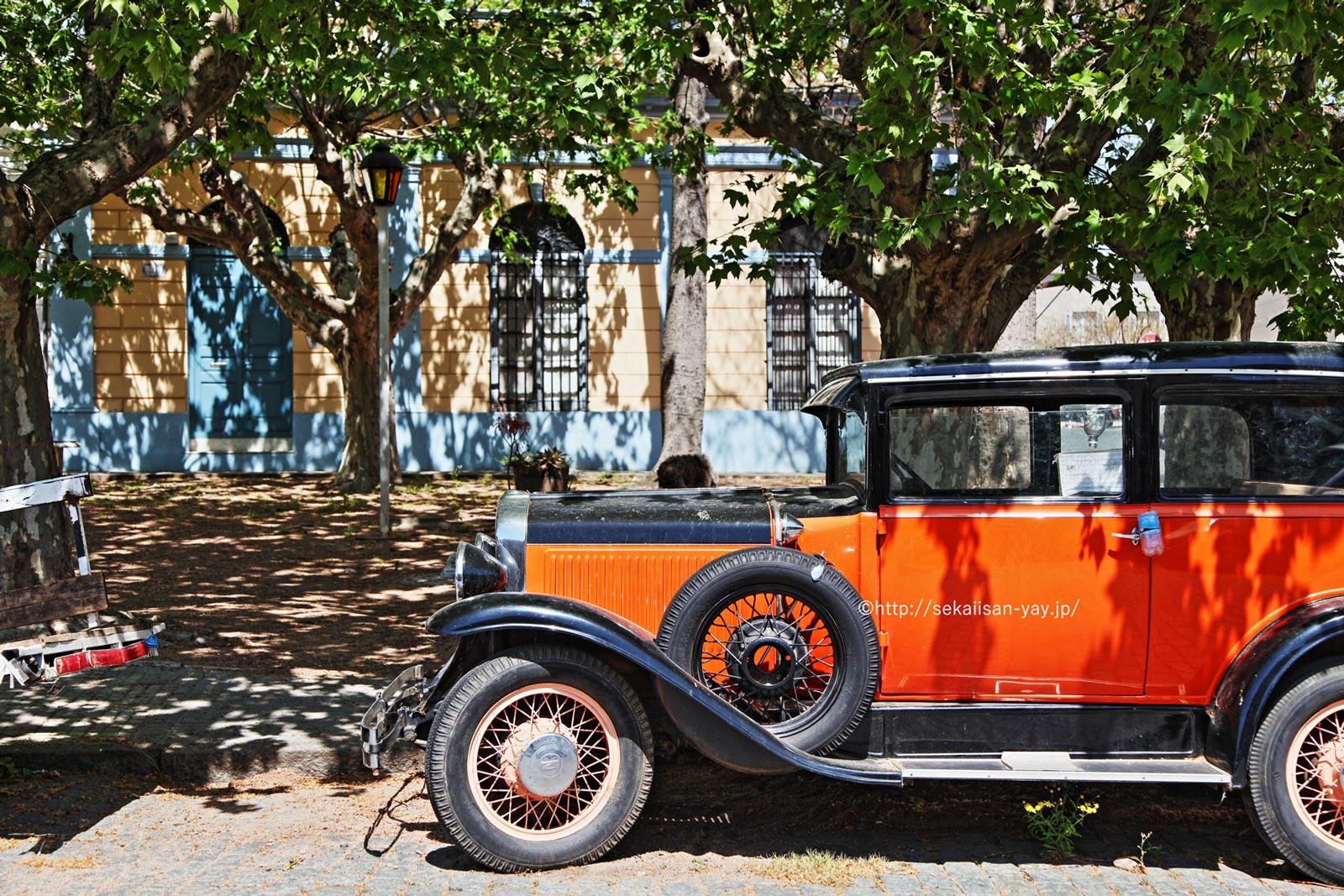 ウルグアイ「コロニア・デル・サクラメントの歴史的街並み」