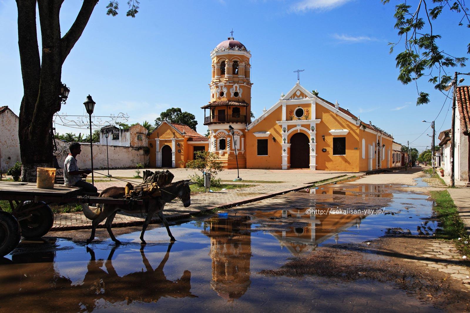 コロンビア「サンタ・クルーズ・デ・モンポスの歴史地区」