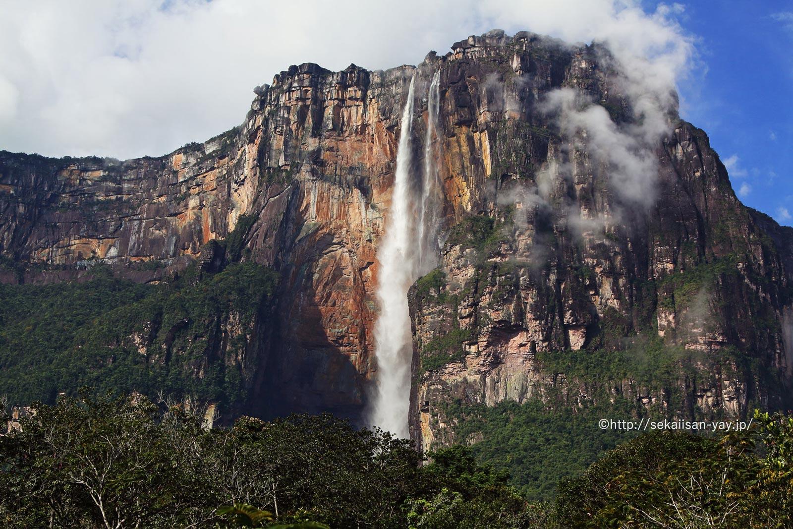 ベネズエラ「カナイマ国立公園」- エンジェルフォール
